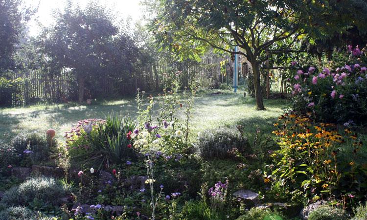 Gartenmorgens