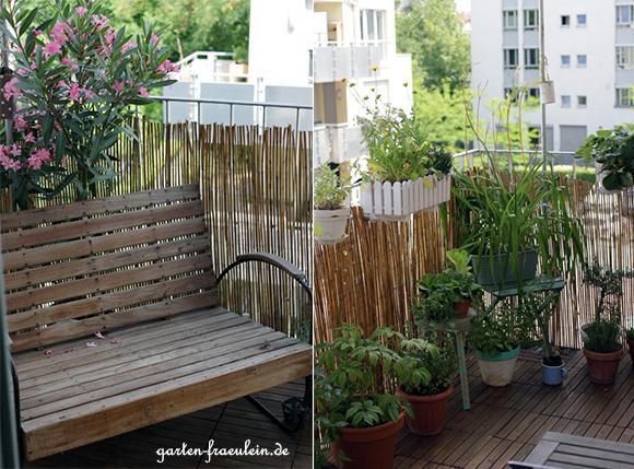 Sommer am Balkon