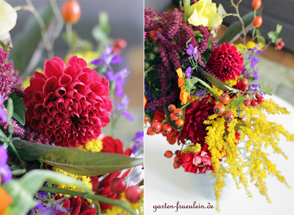Herbstblumen Garten Fraulein Der Garten Blog