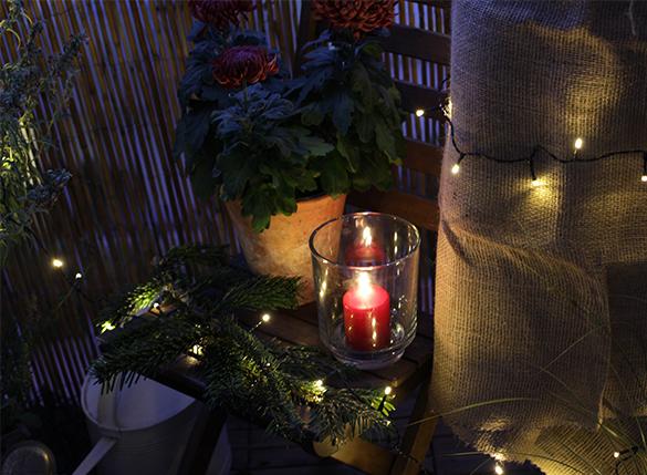 advent am balkon. Black Bedroom Furniture Sets. Home Design Ideas