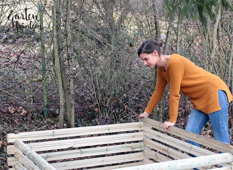 Holz-Komposter
