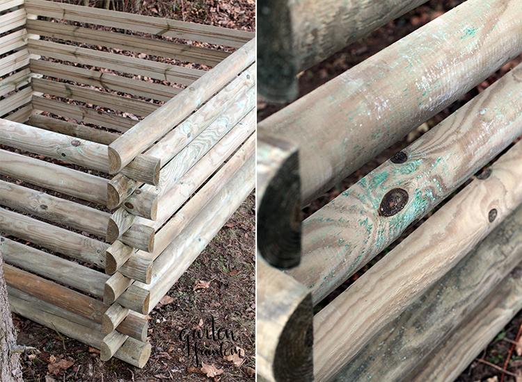 Kompost-Holz