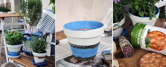 Blumentöpfe DIY