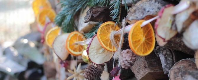 Garten fr ulein der garten blog - Weihnachtsgirlande basteln ...