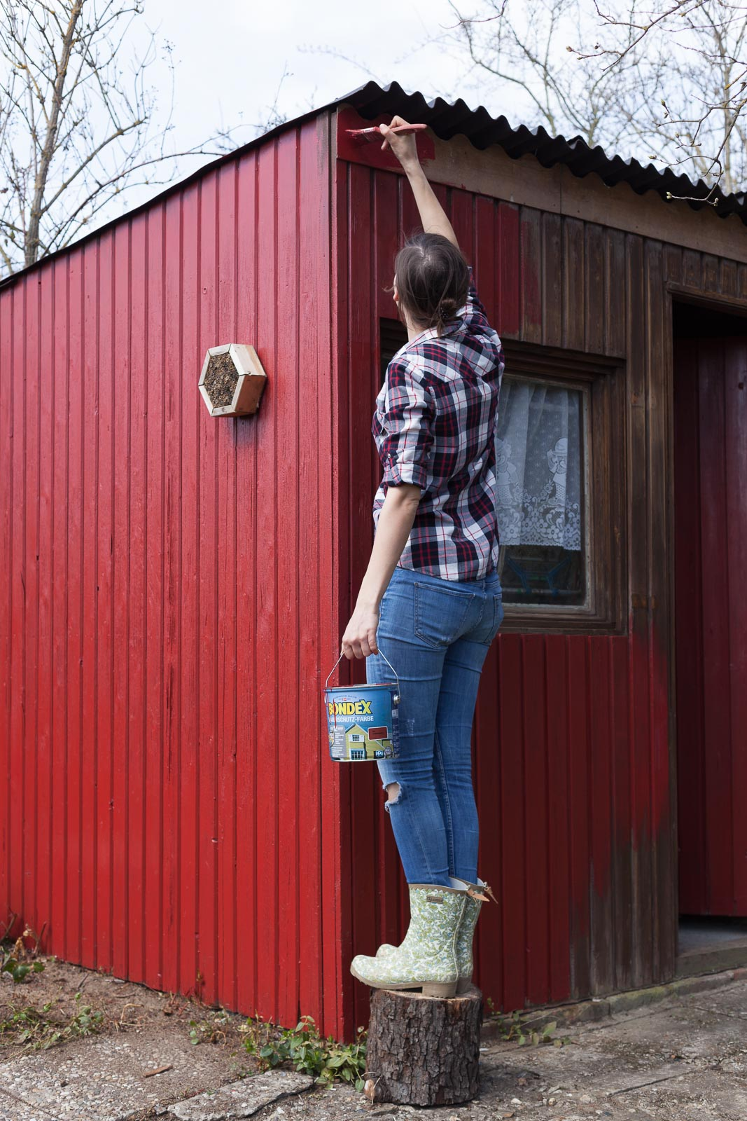 Gartenhaus Renovieren gartenhäuschen renovieren mit dem garten fräulein