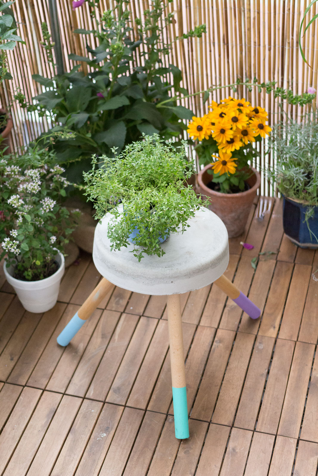 kreative selbermach ideen f r den balkon garten fr ulein der garten blog. Black Bedroom Furniture Sets. Home Design Ideas