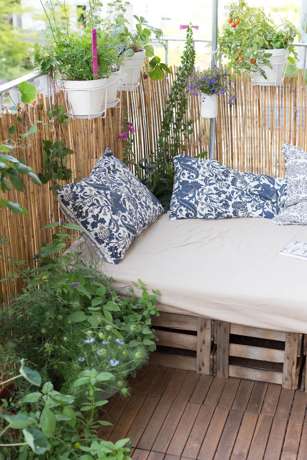 balkonideen zum selber machen jetzt auf garten fr. Black Bedroom Furniture Sets. Home Design Ideas
