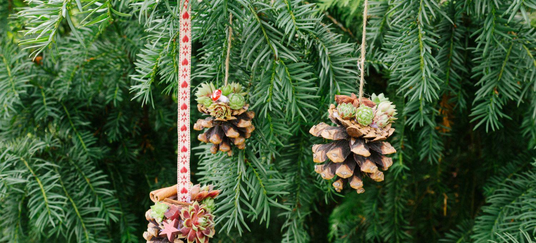 natürliche Weihnachtsdeko basteln
